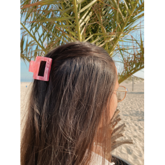 Hairclip trend pink