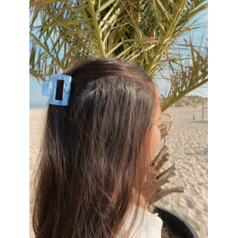 Hairclip trend blue